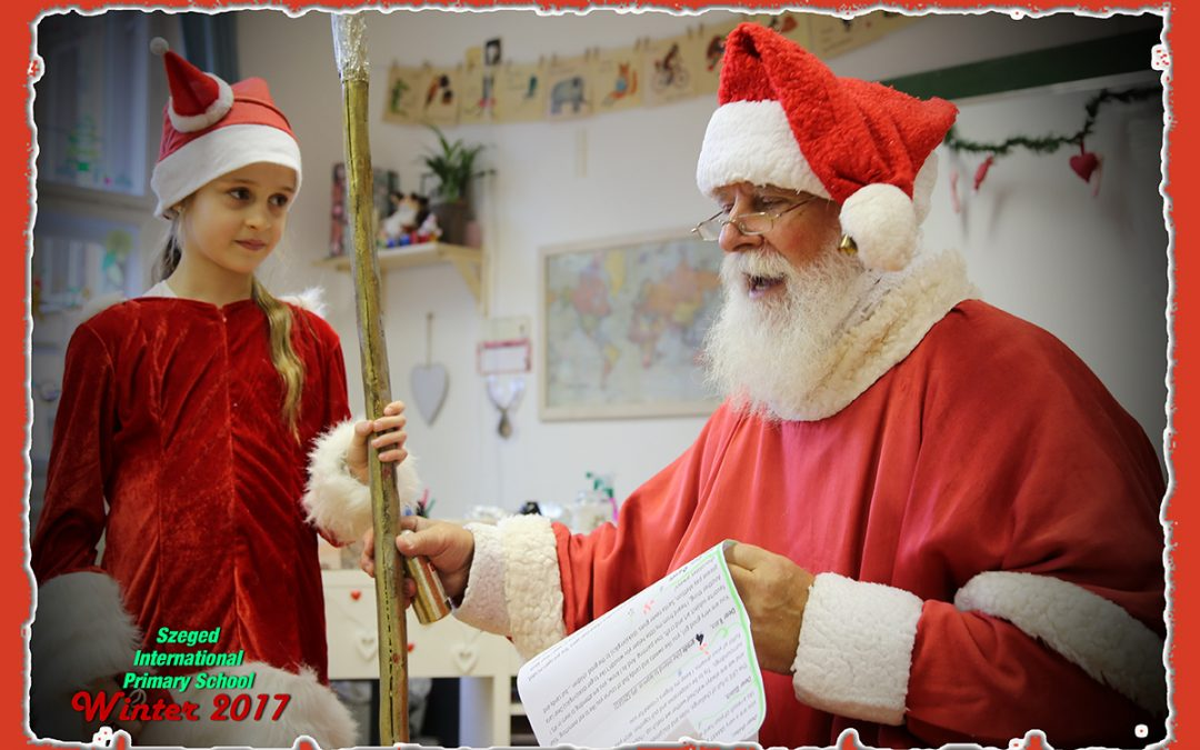 On Thursday Santa Claus visited us at Szeged IPS.