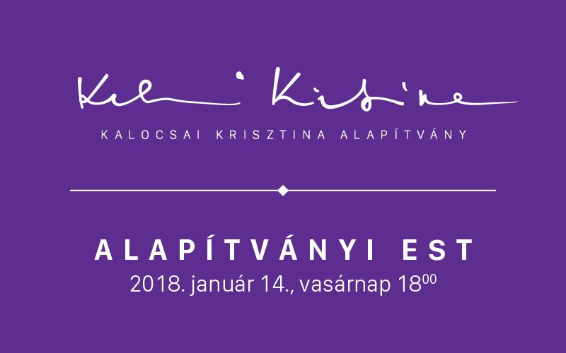 Kalocsai Krisztina Alapítványi Est