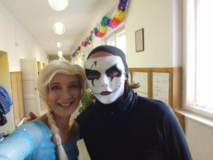 A Halloween-mulatságunk